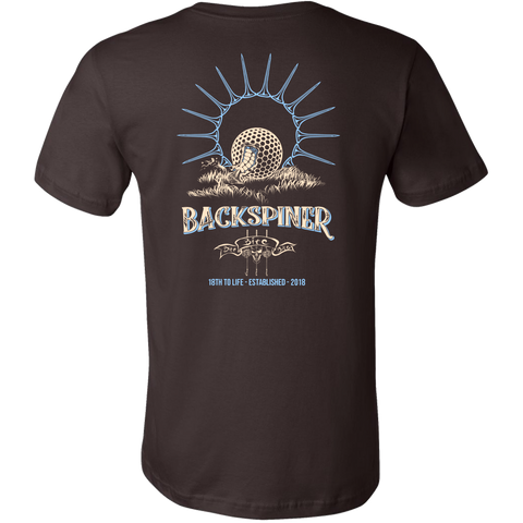 Backspiner Golf T Shirt - Jay Flores