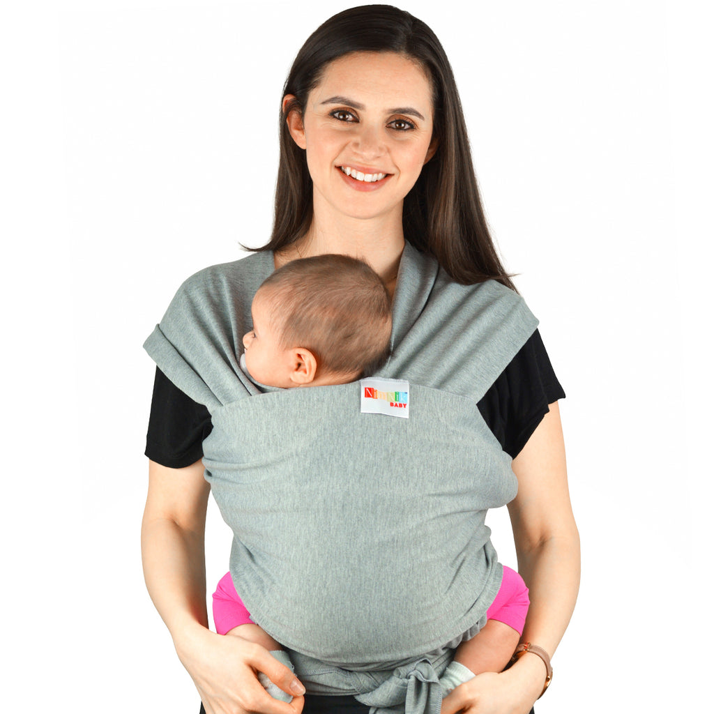 34bf2a7c797 Baby Carrier Wrap Slings - Natural Cotton Multiple Positions Soft Ligh –  NimNik Baby Products