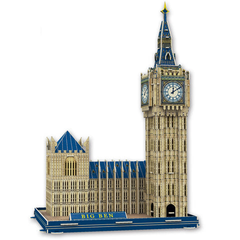 Big Ben 3D Puzzles for Kids Educational Fun Construction 3d Jigsaw Puzzle