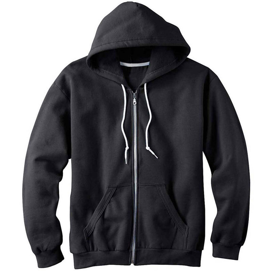 Malibu SURFER Graffiti GRAPHIC ZIP HOODIE SWEATSHIRT By BEN HOGESTYN MALIBU in Black