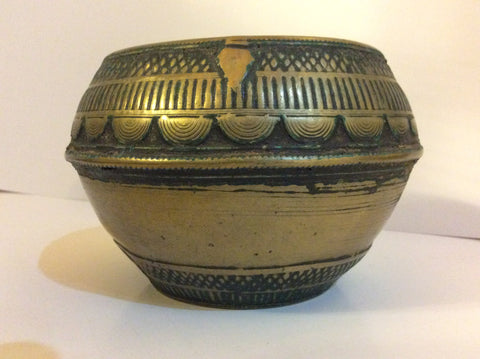 Antique Indian Begging Bowl