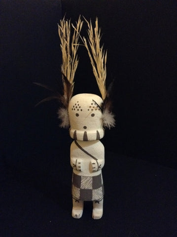 "Original Polyestewa ""Cricket"" Hopi Kachina"