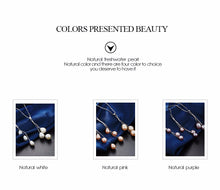 100% real freshwater pearl natural, women jewelry set, fine 925 sterling silver. SHOP IT NOW!