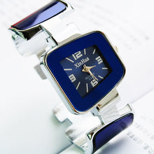 Square dial analog women's watch, bangle watch. HURRY UP!
