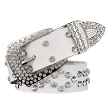 Genuine leather women belt. Rhinestone. It's for you...BUY IT NOW!