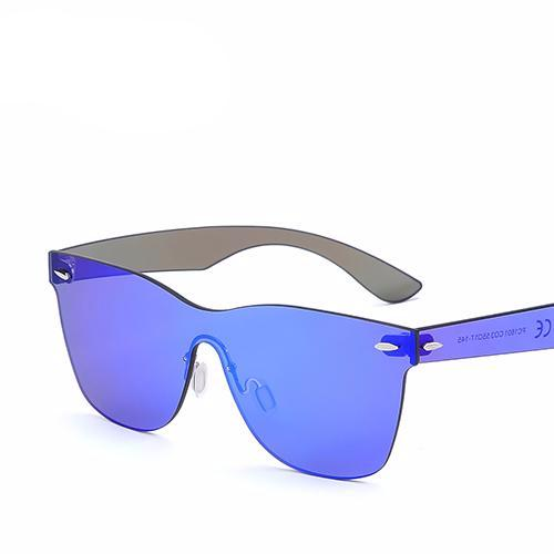 Style sunglasses, ergonomics more comfortable and natural. For women and men. Flat lens rimless. BUY IT NOW!