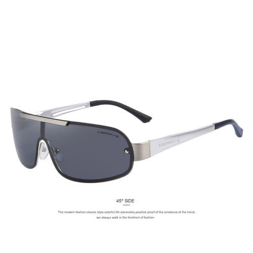 Fashion classic, men's sunglasses polarized. HD Goggle. Men's Integrated Eyewear.