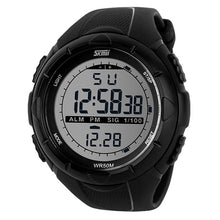 Men's climbing sports digital wristwatches, big dial military, alarm, shock resistant, waterproof.