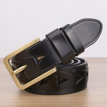 100% Genuine leather. Men's Belts, Hand-made. Exquisite Design only for you!