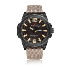 Luxury Men's watches sport, men's quartz clock, man army military.