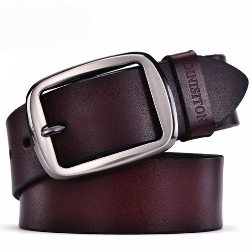 Genuine Cowhide leather belts for men. Fancy  vintage.