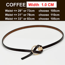 Ladies Belts Women's Strap Genuine Leather, Casual Cow Leather Belts for Skirts Dress students.