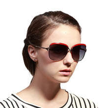 Women's luxury brand sunglasses, oversized Polarized. Vintage.