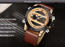Men's sports watch. LED analog man military, SHOP NOW!.
