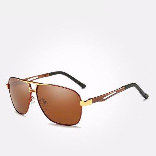 Polarized men's sunglasses, can effectively block and filter out harmful rays to your eyes. SHOP IT NOW!