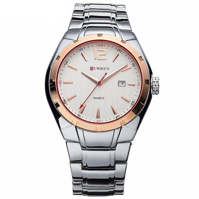 Luxury analog display date, quartz men's watch. Casual...SHOP NOW!