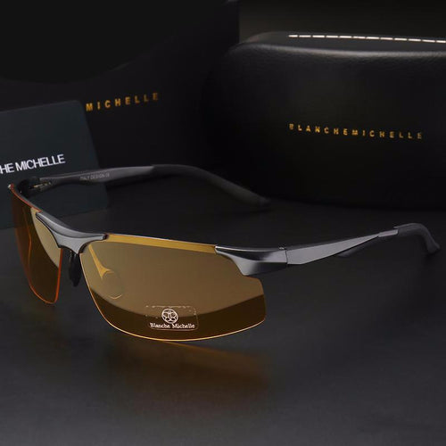 Men's sunglasses, sporty, driving night vision, goggles fishing. Comfortables to you BUY IT NOW!