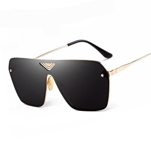 Rimless Square Sunglasses Men Mirror Sun Glasses Eyewear. For your eyes.