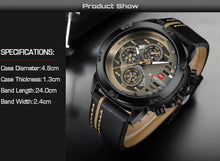 The perfect combination of fashion and sports for men. It's your watch. BUY IT NOW!