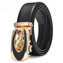 Leather belt for men. Alloy automatic buckle. Your Fashionable style. BUY IT NOW!