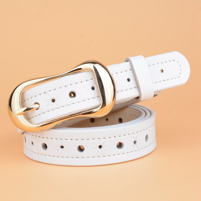 It's designed for beautiful women, leather belt for you...COME ON NOW!