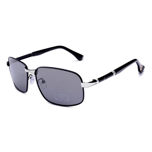 Rectangle Polarized Sunglasses for Men,