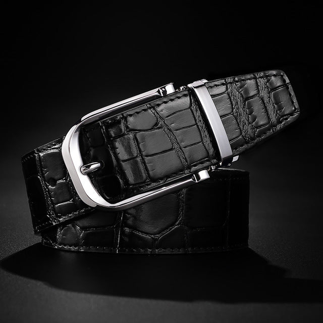 For men of taste...It´s for you, genuine leather belt, pin buckle.