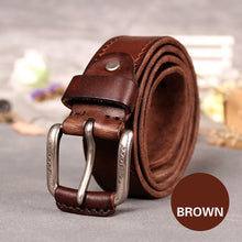 So you enjoy a comfortable wearing experience. Ancient Italian 100% top cow leather belt, simple style for men. HURRY UP NOW!