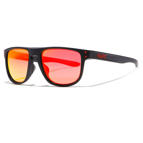 Men's polarized sunglasses. Sports eyewear reflective coating. SHOP IT NOW!
