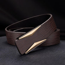 Brown or black belt for men. Genuine Leather. Slide buckle stylish strap.  BUY IT TODAY!