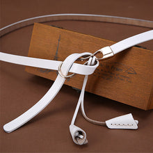 Thin female genuine leather belt, for elegant women...for you. SHOP NOW!