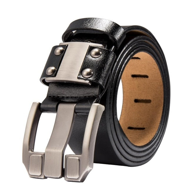 Men's jeans belt, genuine craftsmanship leather. BUY IT NOW!