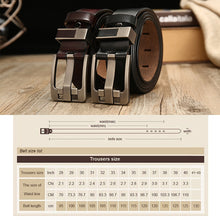 Belt male leather, belt men strap, male genuine leather pin buckle belts for men. BUY IT TODAY!
