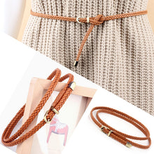 Color braid belt fashion for your dress ladies female.  BUY IT NOW!