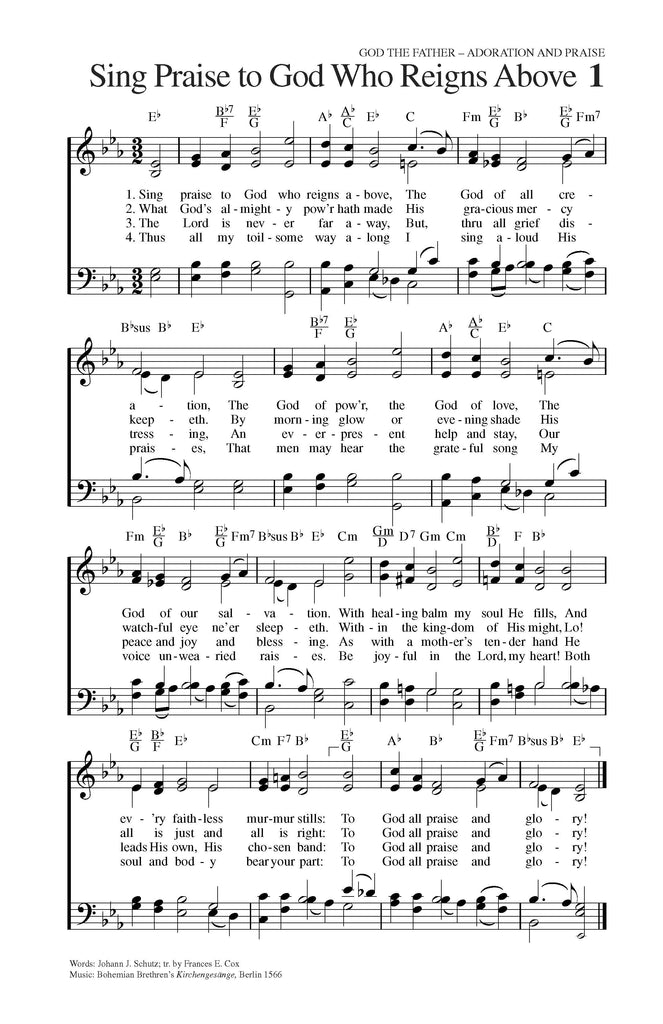 Chord Loose Leaf Edition - Hymns of Grace