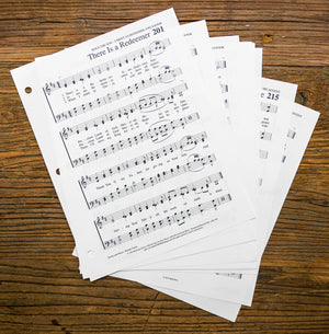 Enlarged, Loose Leaf Edition - Hymns of Grace