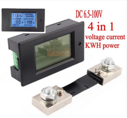 Metering DC diversions loads up to 100A