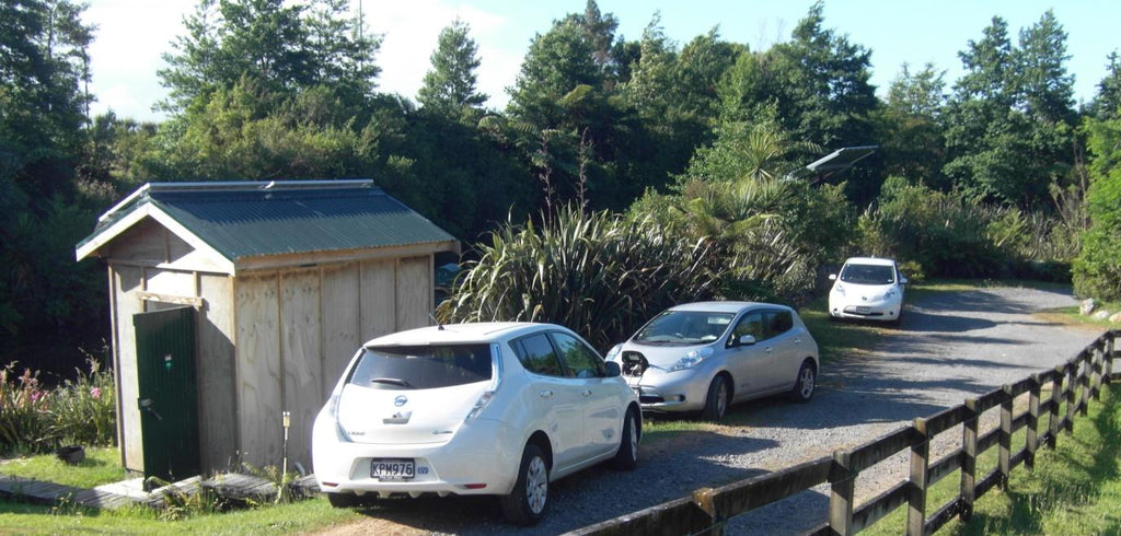 Nissan LEAFs at work