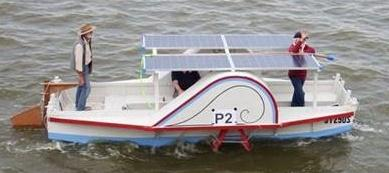 Smart Drives used as solar driven BLDC motors on a boat.