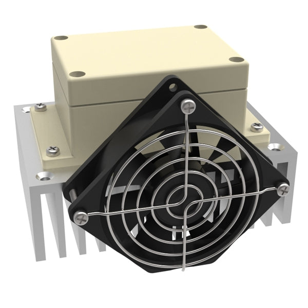 Crydom DC SSR (Solid State Relay) with Fan Cooled Heat Sink