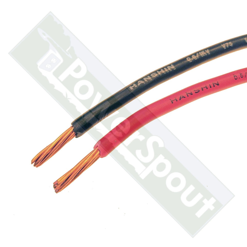 Conduit Wire 6.0 mm² (Red or Black)