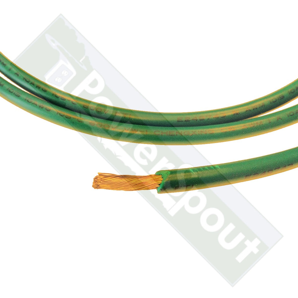 Earth Wire 10 AWG (5.3 mm²) Fine Stranded Tinned Copper
