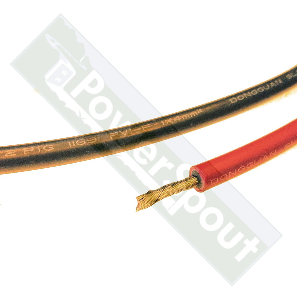 PV Wire 4mm² Fine Stranded Tinned Copper
