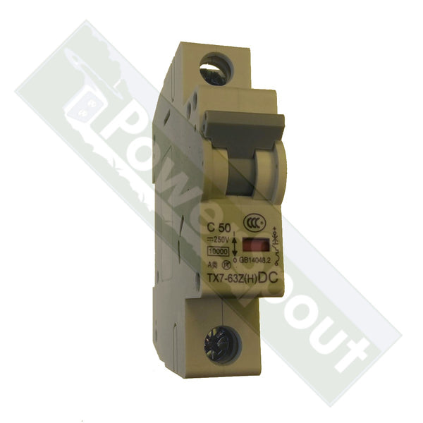Single Pole DC Breakers