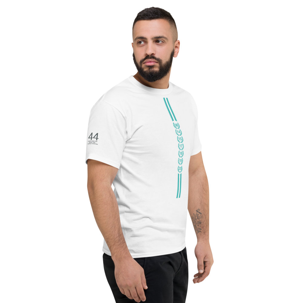 Lewis Hamilton seven times world champion t shirt F1