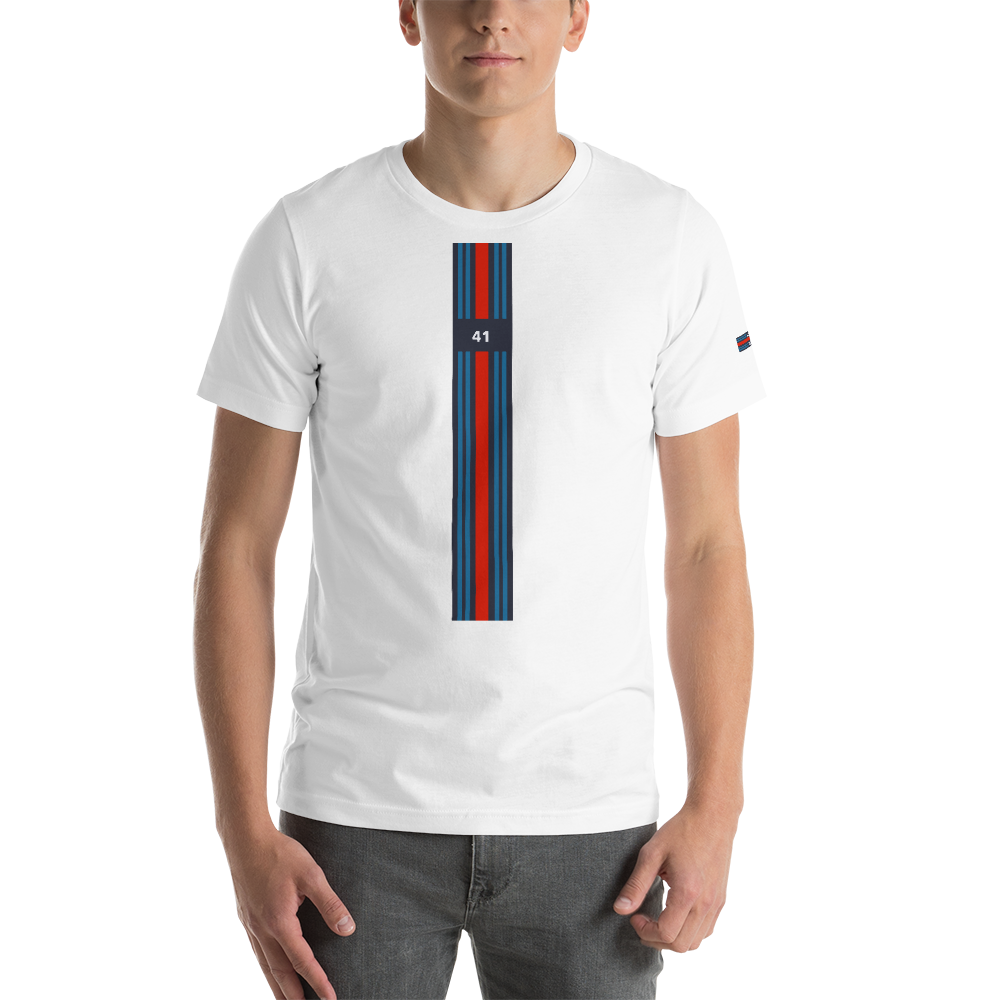 lancia Martini Racing Stripes Rally t shirt inspired design