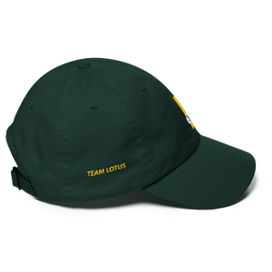 This design is inspired by Team Lotus driver Jim Clark, who won the world championship in 1963 and 1965.