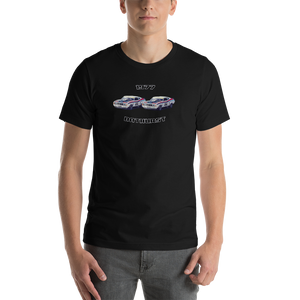 1977 Ford X Falcon GS500 1-2 Finish: Bathurst Legend Series Unisex T-Shirt