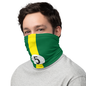 Team Lotus 5 jim clark neck gaiter mask