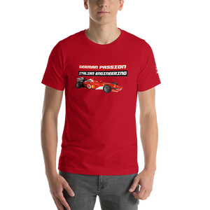 Michael Schumacher seveb times world champion ferrari t shirt